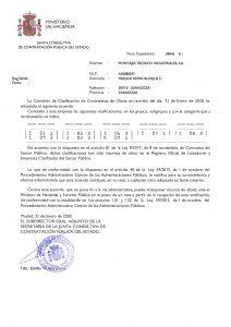 CLASIFICACION CONTRATISTAS DE OBRAS