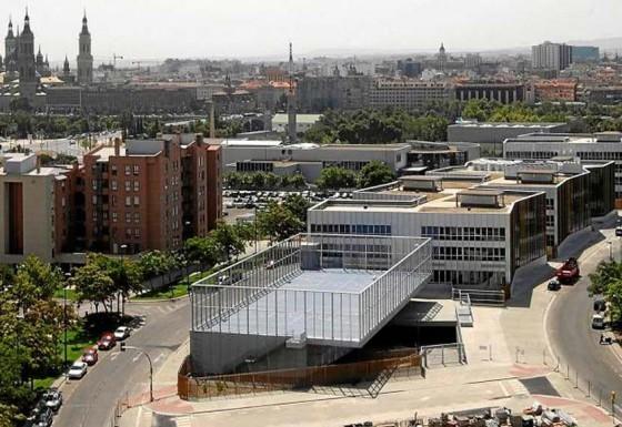 Instalaciónes Eléctricas de la nueva Escuela de  Bellas Artes de Zaragoza