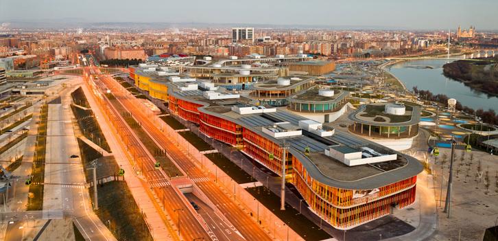 """Instalaciónes Eléctricas de """"Reconversión edificios EXPO 2008 en Parque Empresarial """"ZARAGOZA EXPO EMPRESARIAL"""""""