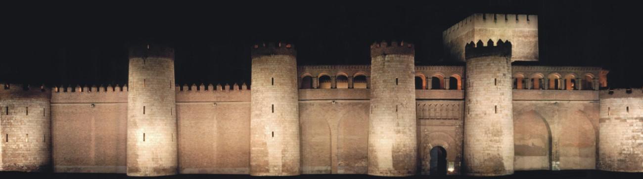 Palacio de la Aljaferia, sede de las Cortes de ARAGON