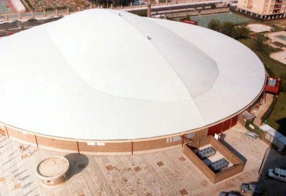 """Palacio Municipal de Deportes""de Zaragoza"